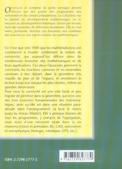 Convexite Dans Le Plan Dans L'Espace Et Au-Dela De La Puissance Et De La Complexite Volume 2 - 4ème de couverture - Format classique
