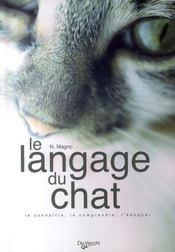 Le langage du chat - Intérieur - Format classique