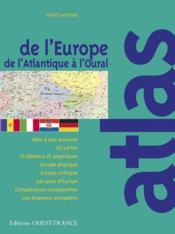 Atlas De L'Europe Et De L'Union Europeenne - Couverture - Format classique