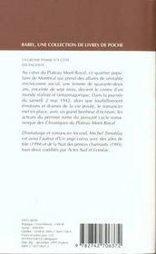 La Grosse Femme D'A Cote Est Enceinte Babel 179 - 4ème de couverture - Format classique