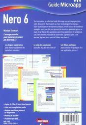 Nero 6 - 4ème de couverture - Format classique