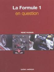 La Formule 1 En Question - Intérieur - Format classique