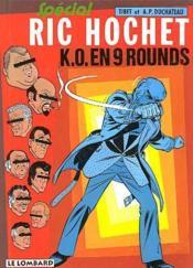 Ric Hochet t.31; K.O. en neuf rounds - Couverture - Format classique