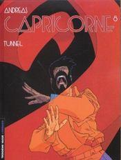 Capricorne t.8 ; tunnel - Intérieur - Format classique