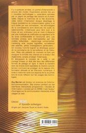 Cybercontroles ; veille numerique et surveillance en ligne - 4ème de couverture - Format classique