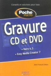 Poche micro gravure cd et dvd - Couverture - Format classique