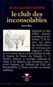 Club Des Inconsolables - Couverture - Format classique