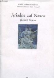 Ariadne Auf Naxos - Couverture - Format classique