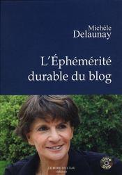 L'éphémérité durable du blog - Intérieur - Format classique