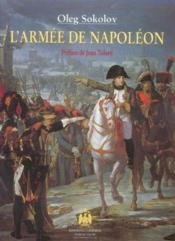 L'armee de napoleon - Couverture - Format classique