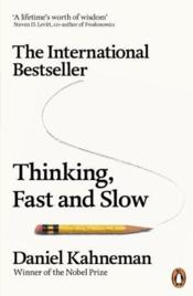 Vente livre :  THINKING, FAST AND SLOW  - Daniel Kahneman