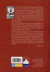Indochine de Provence ; le silence de la rizière - 4ème de couverture - Format classique