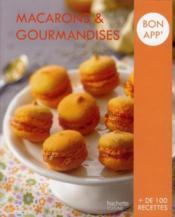 Macarons et gourmandises - Couverture - Format classique