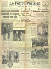 Petit Parisien Edition De Paris (Le) du 03/03/1941 - Couverture - Format classique