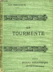 La Tourmente. - Couverture - Format classique