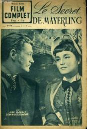Tous Les Jeudis - Film Complet N° 174 - Le Secret De Mayerling - Couverture - Format classique