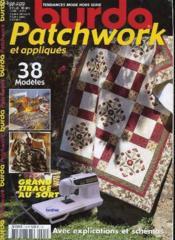 Burda Patchwork Et Appliques - Couverture - Format classique