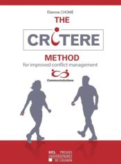 Vente  The Critere Method  - Chome