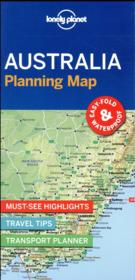 Vente livre :  Australia planning map (édition 2017)  - Collectif - Collectif Lonely Planet