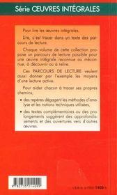 Alcools, d'Apollinaire - 4ème de couverture - Format classique