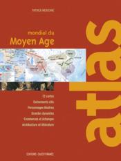 Atlas mondial du moyen age - Couverture - Format classique