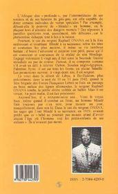 Un Homme Blinde A Bir-Hakeim - 4ème de couverture - Format classique