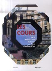 Les cours de la Renaissance italienne au Paris d'aujourd'hui - Intérieur - Format classique
