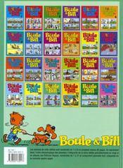 Boule & Bill t.21 - 4ème de couverture - Format classique