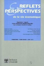 Reflets Et Perspectives De La Vie Economiques 1999/2 - Couverture - Format classique