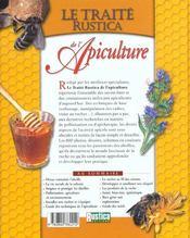 Le Traite Rustica De L'Apiculture - 4ème de couverture - Format classique