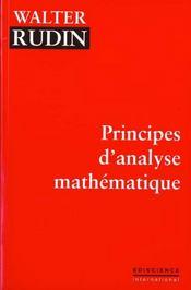 Principes D'Analyse Mathematique - Intérieur - Format classique