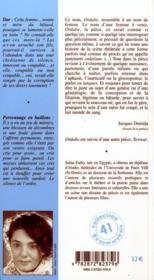 Ordalie terreur - 4ème de couverture - Format classique
