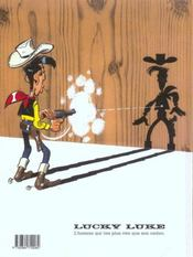 Lucky Luke t.58 ; l'alibi - 4ème de couverture - Format classique