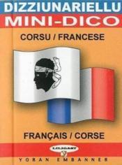 Dizziunariellu ; mini dico francais-corse - Couverture - Format classique