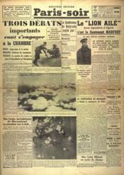 Paris Soir N°5986 du 06/02/1940 - Couverture - Format classique
