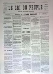 Cri Du Peuple (Le) N°64 du 04/05/1871 - Couverture - Format classique