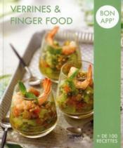 Verrines et finger food - Couverture - Format classique