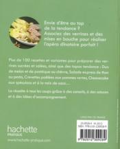 Verrines et finger food - 4ème de couverture - Format classique