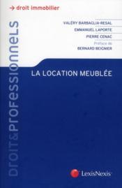 La Location Meublee - Couverture - Format classique
