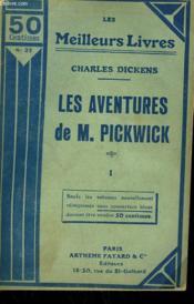 Les Aventures De M. Pickwick. Tome 1. Collection : Les Meilleurs Livres N° 21. - Couverture - Format classique