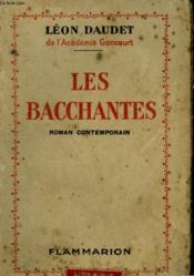 Les Bacchantes. - Couverture - Format classique