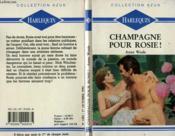 Champagne Pour Rosie - Pink Champagne - Couverture - Format classique