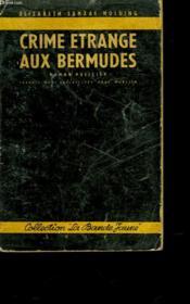 Crime Etrange Aux Bermudes - Couverture - Format classique
