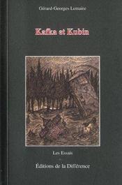 Kafka Et Kubin - Intérieur - Format classique