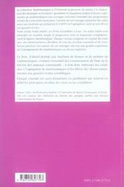 Elements De Theorie Des Anneaux Anneaux Commutatifs Niveau L3 - 4ème de couverture - Format classique