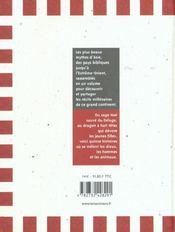 Plus Beaux Mythes D'Asie. La Bile, L'Orient, L'Extreme-Orient (Les) - 4ème de couverture - Format classique