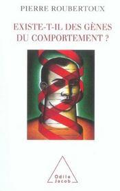 Existe-T-Il Des Genes Du Comportement ? - Intérieur - Format classique