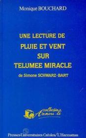 Lecture de pluie et vent sur Telumee miracle de Simone Schwarz-Bart - Couverture - Format classique