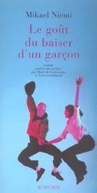 Le Gout Du Baiser D'Un Garcon - Intérieur - Format classique