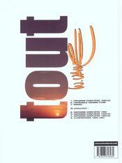 Tout Vance t.1 ; histoires complètes 1962-1963 - 4ème de couverture - Format classique